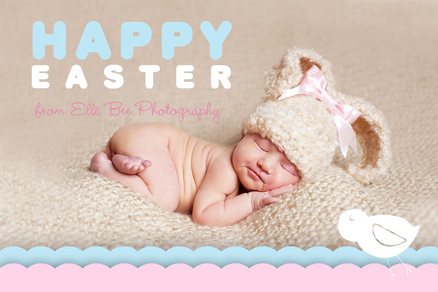 Happy easter from elle bee photography