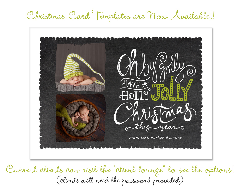 2013 christmas cards templates are here elle bee for Free christmas card templates for photographers